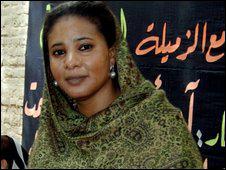 صحفية سودانية مهددة بالجلد نظير إرتداءها بنطلون