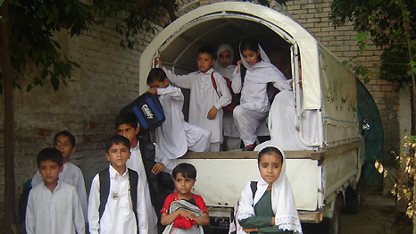 Back to school in the Swat Valley
