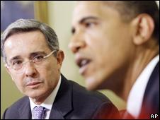 Colômbia anuncia ter concluído negociação com EUA sobre acordo militar