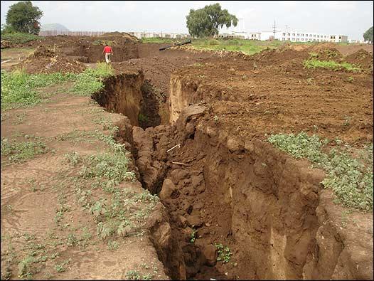 A estabilidade do solo é um problema sério na capital mexicana
