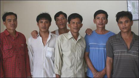 Một số ngư dân Việt Nam vừa mãn hạn tù tại Indonesia