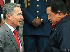 Uribe y Chávez