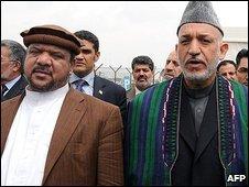 قسیم فهیم، معاون اول رئیس جمهوری افغانستان و کرزی