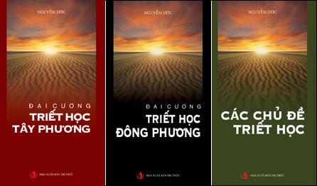 Bìa bộ ba quyển sách của học giả Nguyễn Ước