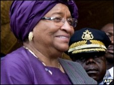 Ellen Johnson Sirleaf (Foto: AFP)