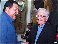 Chávez y Chomsky