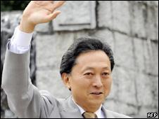 El líder del PD, Yukio Hatayama
