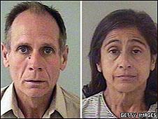 Phillip Garrido y su mujer Nancy