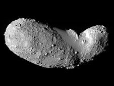 Asteroide Itokawa (Foto: Jaxa)