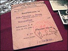 Carnet de pertenencia al ejército clandestino