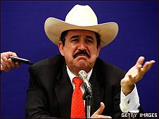 Manuel Zelaya en la OEA