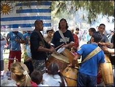 Uruguayos en España