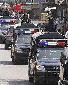 کراچی میں پولیس(فائل فوٹو)