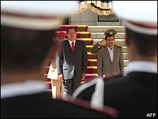 Hugo Chávez, Mahmud Ahmadineyad