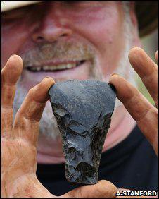 Церемониальный топор, найденный на острове Пасхи