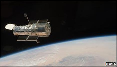صورة التقطها منظار الفضاء هابل مؤخرا