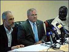 السودان: فشل المحادثات حول استفتاء تقرير المصير للجنوب 090910165936_sudan_talks_afp_226