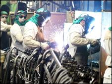 Trabalhadores da indústria brasileira