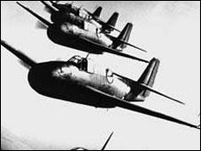 Aviões Avenger da Marinha americana