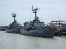 Tàu hải quân của Việt Nam