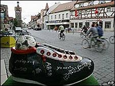 Calle de Herzogenaurach, en Alemania