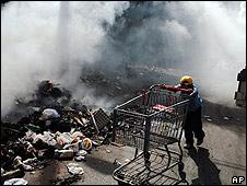Disturbios en Honduras