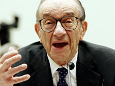Alan Greenspan, former head of the US Federal Reserve