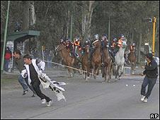 Protesta en Argentina (Foto: 25/09/09)