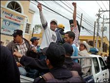 Desaojo del Instituto Nacional Agrario en Honduras