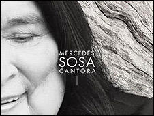 Tapa del último álbum de Mercedes Sosa