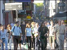 Đường phố Buenos Aires của Achentina