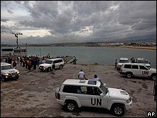 Personal de la ONU en Haití