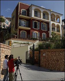 Apartamento en Mallorca donde murió Stephen Gately, cantante de Boyzone