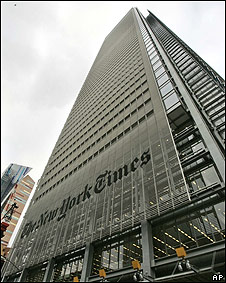 Sede en Nueva York del The New York Times