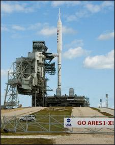 Ares I. Foto: cortesía NASA