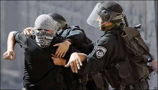 Enfrentamientos en Jerusalén.