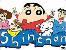 Shin Chan, uno de los personajes manga más conocidos.