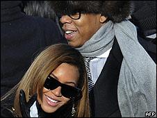 Beyonce Knowles y su esposo Jay-Z