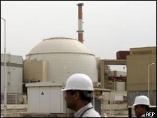 Reactor de Bushehr en Irán