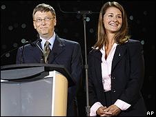 Bill y Melinda Gates en una imagen de archivo