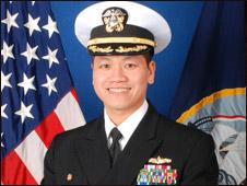 Trung tá Lê Bá Hùng (ảnh của Hải quân Hoa Kỳ)