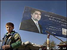 Cartel electoral de Abdullah Abdullah