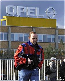 Trabajadores de Opel en Alemania