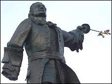 Estatua de Blas de Lezo en Cartagena de Indias, Colombia