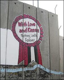 Стена между Израилем и Западным берегом