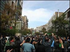 تظاهرات مخالفان در 13 آبان