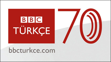 BBC Türkçe 70. yıl logosu