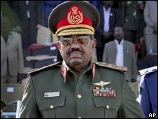 Omar al-Bashir, presidente do Sudão