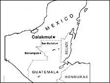 Ubicación de Campeche, México (PNAS)