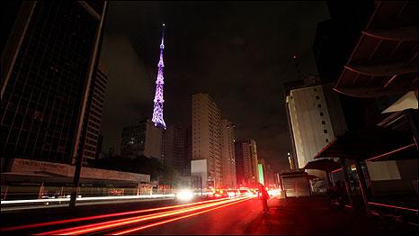 Apagão em São Paulo